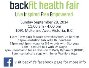 health fair for slide show